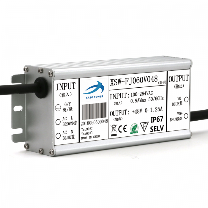60W waterproof constant voltage
