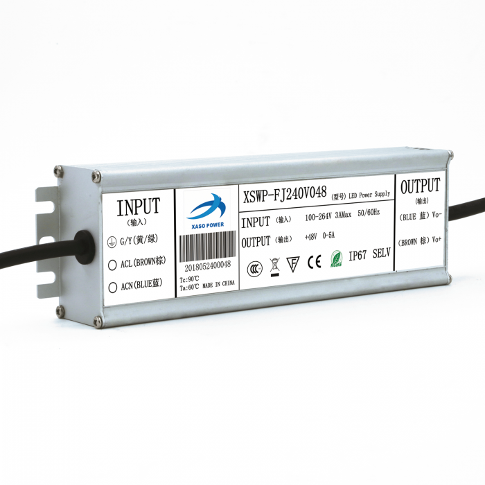 240W waterproof IP67 constant voltage